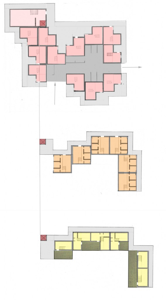 sub building plan color small